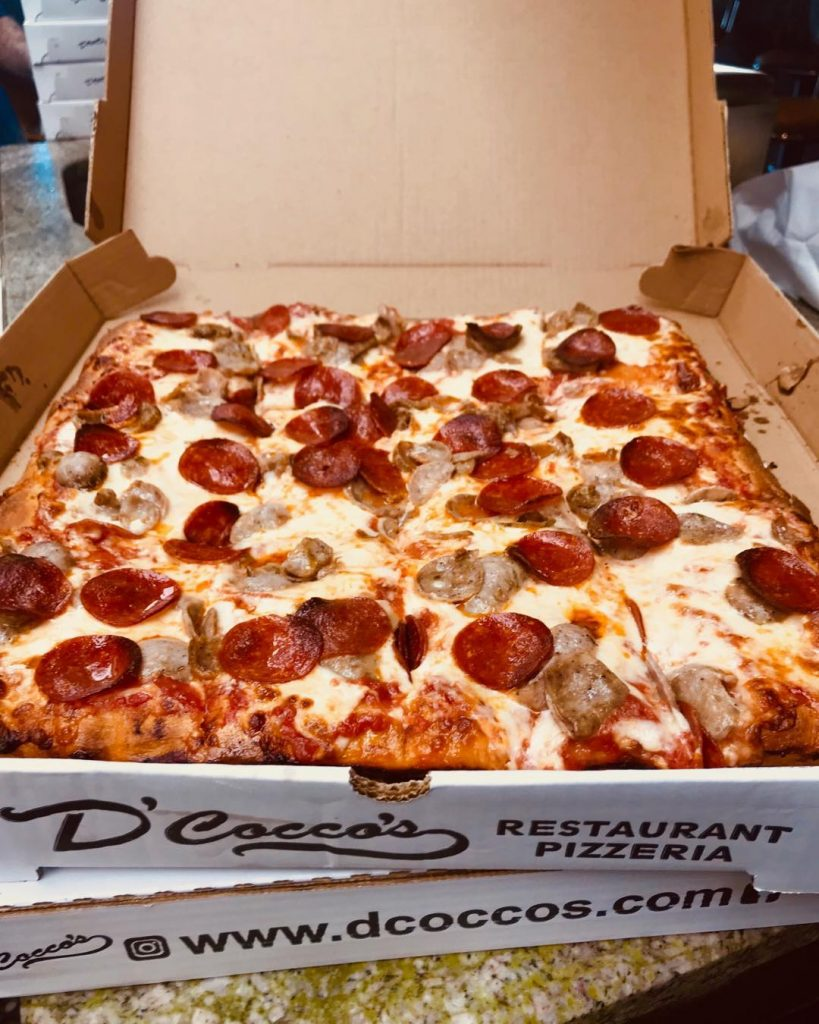 A Pepperoni Sicilian Pizza from D'Cocco's - Order Food Now !