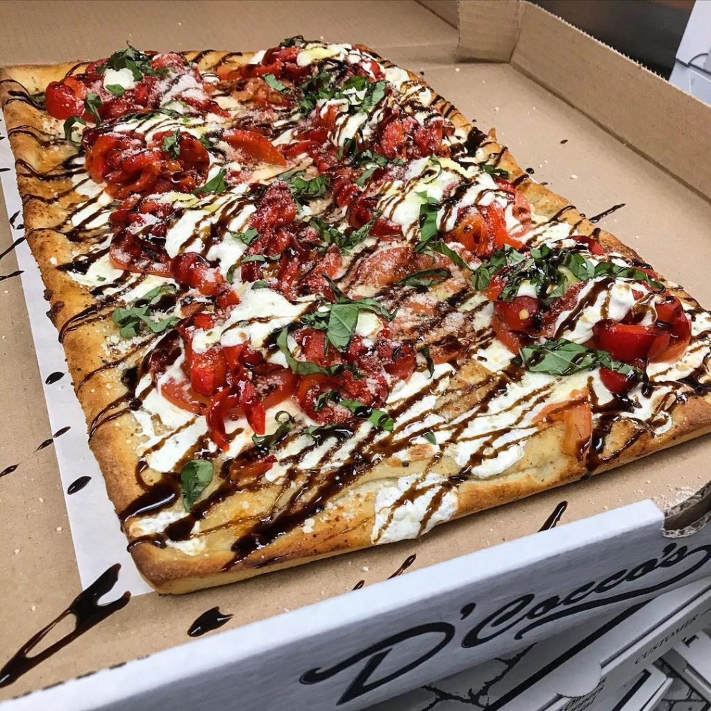 Specialty Pizza Pies from D'Cocco's Pizza