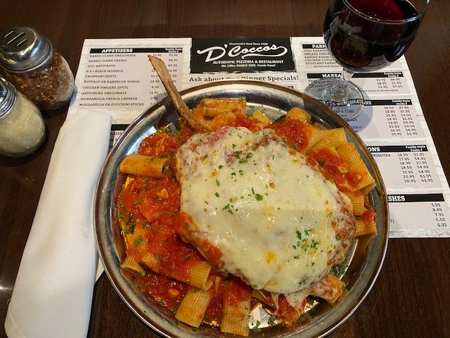 Italian food from D'Coccos Pizza & Italian Restaurant
