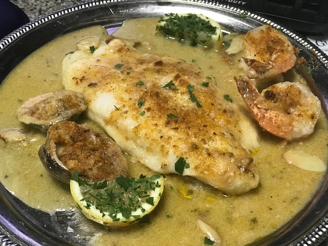 Fresh Seafood Dish from D'Coccos Pizza & Italian Restaurant